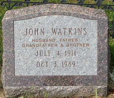 WATKINS, JOHN - Calhoun County, Michigan | JOHN WATKINS - Michigan Gravestone Photos