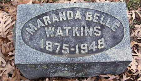 WATKINS, MARANDA B - Calhoun County, Michigan | MARANDA B WATKINS - Michigan Gravestone Photos