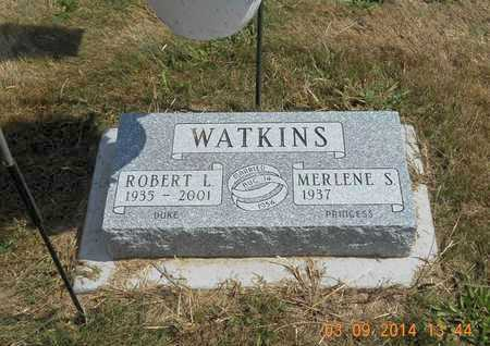 WATKINS, MERLENE S. - Calhoun County, Michigan | MERLENE S. WATKINS - Michigan Gravestone Photos