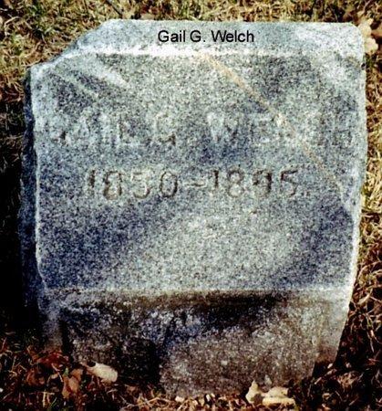 WELCH, GAIL - Calhoun County, Michigan | GAIL WELCH - Michigan Gravestone Photos