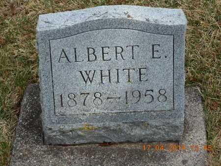 WHITE, ALBERT E. - Calhoun County, Michigan | ALBERT E. WHITE - Michigan Gravestone Photos