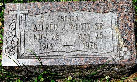 WHITE, ALFRED A. SR - Calhoun County, Michigan | ALFRED A. SR WHITE - Michigan Gravestone Photos