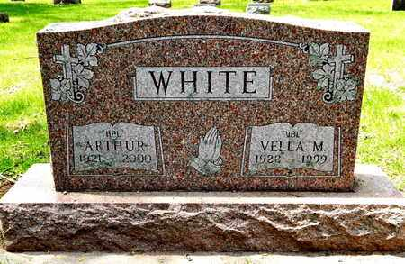 WHITE, VELLA M - Calhoun County, Michigan | VELLA M WHITE - Michigan Gravestone Photos