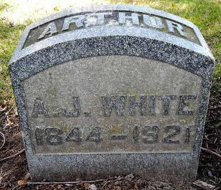 WHITE, ARTHUR J - Calhoun County, Michigan | ARTHUR J WHITE - Michigan Gravestone Photos