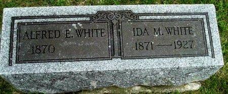 WHITE, IDA M - Calhoun County, Michigan | IDA M WHITE - Michigan Gravestone Photos