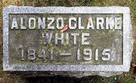WHITE, ALONZO C - Calhoun County, Michigan | ALONZO C WHITE - Michigan Gravestone Photos