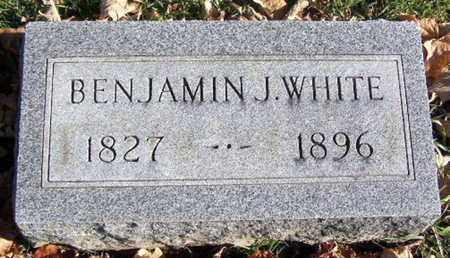 WHITE, BENJAMIN J - Calhoun County, Michigan | BENJAMIN J WHITE - Michigan Gravestone Photos