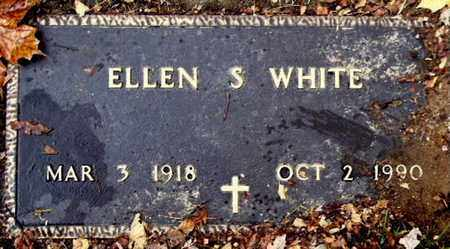 WHITE, ELLEN S - Calhoun County, Michigan   ELLEN S WHITE - Michigan Gravestone Photos