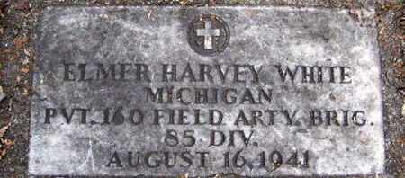 WHITE, ELMER H - Calhoun County, Michigan | ELMER H WHITE - Michigan Gravestone Photos