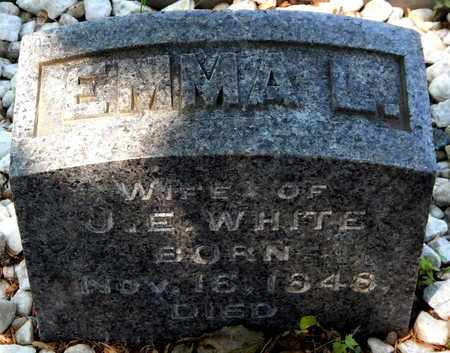 WHITE, EMMA L - Calhoun County, Michigan | EMMA L WHITE - Michigan Gravestone Photos