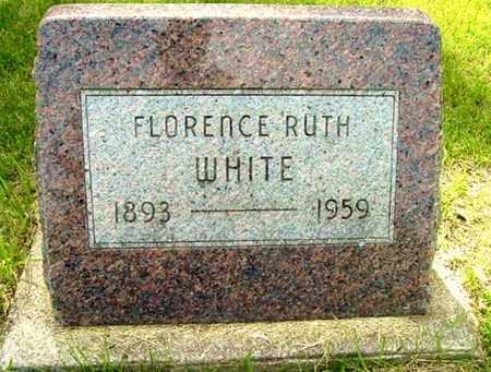 WHITE, FLORENCE R - Calhoun County, Michigan | FLORENCE R WHITE - Michigan Gravestone Photos