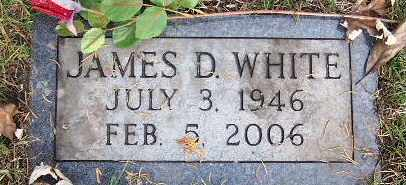 WHITE, JAMES D - Calhoun County, Michigan | JAMES D WHITE - Michigan Gravestone Photos