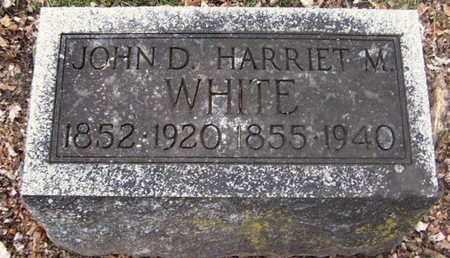 WHITE, HARRIET M - Calhoun County, Michigan | HARRIET M WHITE - Michigan Gravestone Photos
