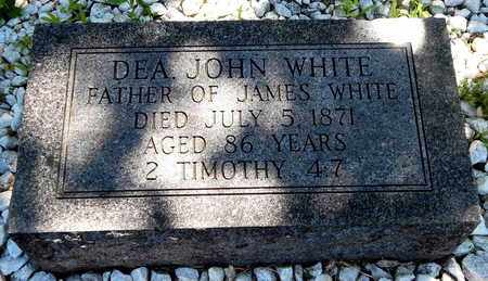 WHITE, JOHN - Calhoun County, Michigan | JOHN WHITE - Michigan Gravestone Photos