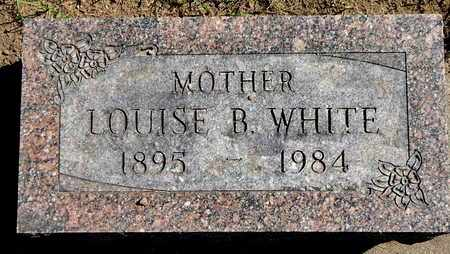 WHITE, LOUISE B - Calhoun County, Michigan | LOUISE B WHITE - Michigan Gravestone Photos