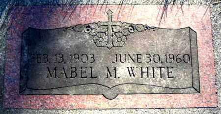 WHITE, MABEL M - Calhoun County, Michigan | MABEL M WHITE - Michigan Gravestone Photos