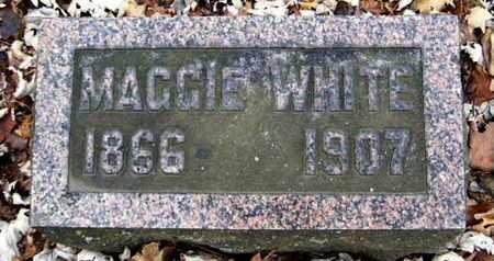 WHITE, MARGARET - Calhoun County, Michigan   MARGARET WHITE - Michigan Gravestone Photos