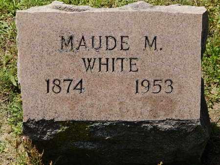 WHITE, MAUDE M - Calhoun County, Michigan | MAUDE M WHITE - Michigan Gravestone Photos