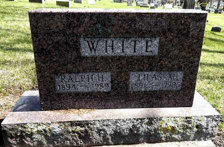 WHITE, LILAS N - Calhoun County, Michigan | LILAS N WHITE - Michigan Gravestone Photos