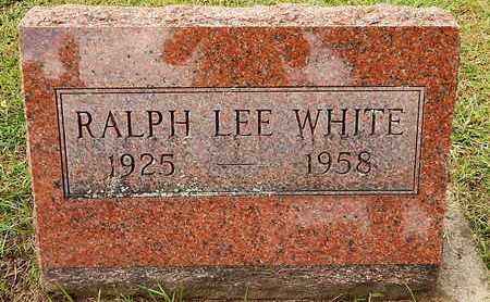 WHITE, RALPH L - Calhoun County, Michigan | RALPH L WHITE - Michigan Gravestone Photos