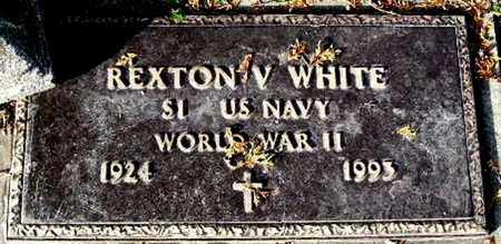 WHITE, REXTON V - Calhoun County, Michigan   REXTON V WHITE - Michigan Gravestone Photos