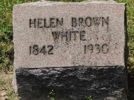WHITE, SARAH HELEN - Calhoun County, Michigan | SARAH HELEN WHITE - Michigan Gravestone Photos