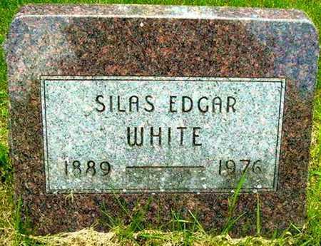 WHITE, SILAS E - Calhoun County, Michigan   SILAS E WHITE - Michigan Gravestone Photos
