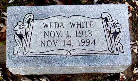WHITE, WEDA - Calhoun County, Michigan | WEDA WHITE - Michigan Gravestone Photos
