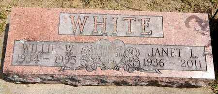 WHITE, WILLIE W - Calhoun County, Michigan | WILLIE W WHITE - Michigan Gravestone Photos