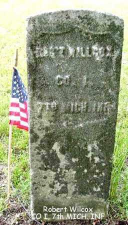 WILCOX, ROBERT - Calhoun County, Michigan | ROBERT WILCOX - Michigan Gravestone Photos