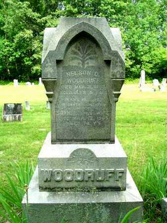 WOODRUFF, NELSON D. - Calhoun County, Michigan | NELSON D. WOODRUFF - Michigan Gravestone Photos