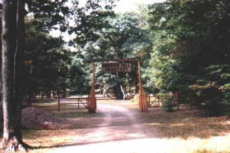 ENTRANCE, MISSION HILLS - Chippewa County, Michigan   MISSION HILLS ENTRANCE - Michigan Gravestone Photos