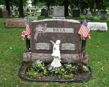 BRYA, MARGARET - Clinton County, Michigan   MARGARET BRYA - Michigan Gravestone Photos
