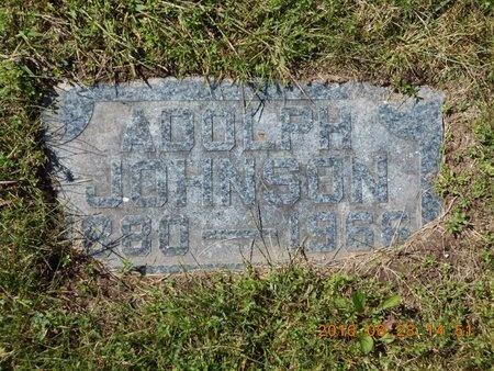 JOHNSON, ADOLPH - Delta County, Michigan | ADOLPH JOHNSON - Michigan Gravestone Photos