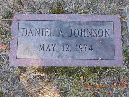 JOHNSON, DANIEL A. - Delta County, Michigan | DANIEL A. JOHNSON - Michigan Gravestone Photos