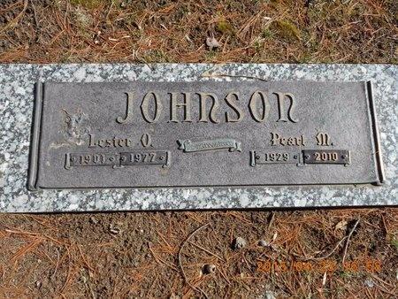 JOHNSON, PEARL M. - Delta County, Michigan | PEARL M. JOHNSON - Michigan Gravestone Photos