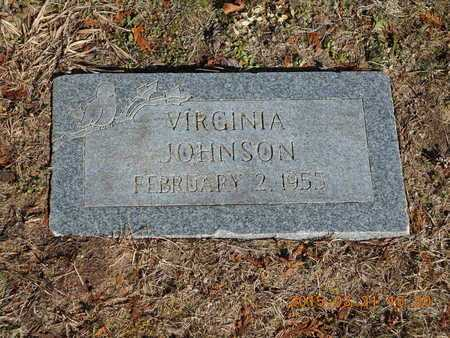 JOHNSON, VIRGINIA - Delta County, Michigan | VIRGINIA JOHNSON - Michigan Gravestone Photos