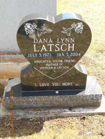 LATSCH, DANA LYNN - Delta County, Michigan   DANA LYNN LATSCH - Michigan Gravestone Photos