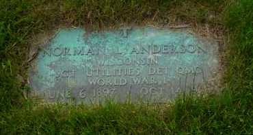 ANDERSON, NORMAN L. - Genesee County, Michigan | NORMAN L. ANDERSON - Michigan Gravestone Photos