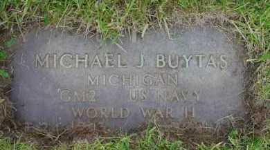 BUYTAS, MICHAEL J. - Genesee County, Michigan   MICHAEL J. BUYTAS - Michigan Gravestone Photos