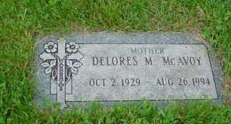 MCAVOY, DELORES M. - Genesee County, Michigan | DELORES M. MCAVOY - Michigan Gravestone Photos