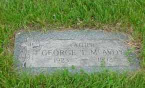 MCAVOY, GEORGE T - Genesee County, Michigan | GEORGE T MCAVOY - Michigan Gravestone Photos