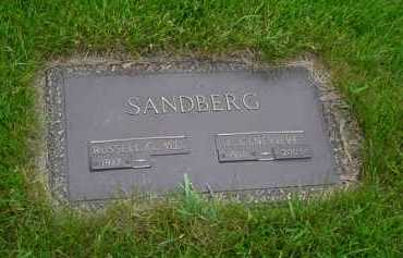 SANDBERG, E. GENEVIEVE - Genesee County, Michigan | E. GENEVIEVE SANDBERG - Michigan Gravestone Photos
