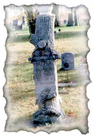 BOWER, LENNA VIOLETTA - Grand Traverse County, Michigan | LENNA VIOLETTA BOWER - Michigan Gravestone Photos