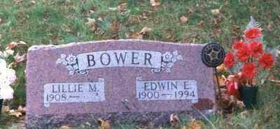 MARKS BOWER, LILLIE M. - Grand Traverse County, Michigan   LILLIE M. MARKS BOWER - Michigan Gravestone Photos