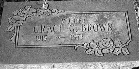 BROWN, GRACE G. - Grand Traverse County, Michigan | GRACE G. BROWN - Michigan Gravestone Photos