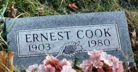 COOK, ERNEST - Grand Traverse County, Michigan | ERNEST COOK - Michigan Gravestone Photos