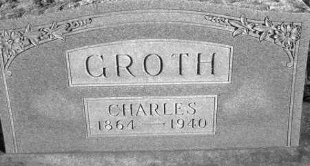 GROTH, CHARLES - Grand Traverse County, Michigan | CHARLES GROTH - Michigan Gravestone Photos