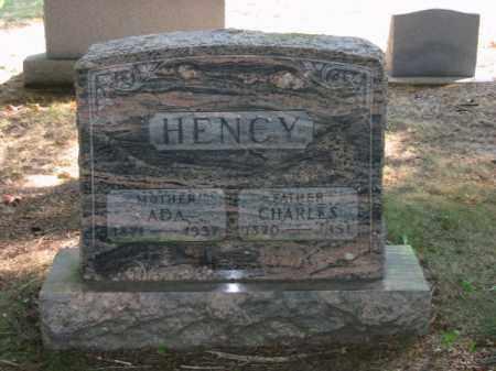 HENCY, CHARLES - Grand Traverse County, Michigan | CHARLES HENCY - Michigan Gravestone Photos