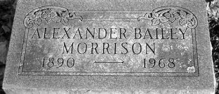 MORRISON, ALEXANDER - Grand Traverse County, Michigan | ALEXANDER MORRISON - Michigan Gravestone Photos